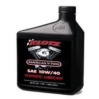 KLOTZ V-TWIN 10W40 OIL (QT)