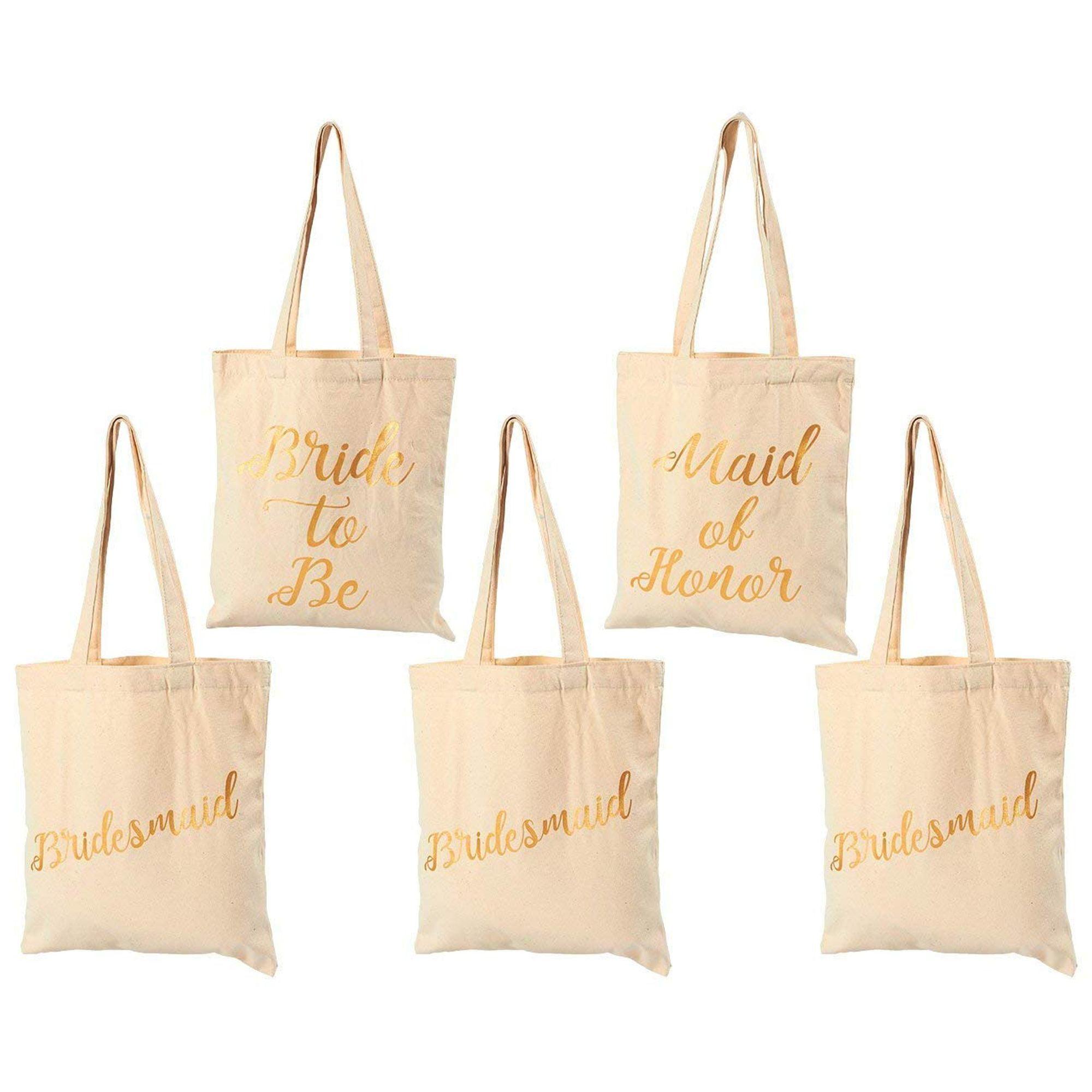 Bridesmaid Tote Bag Bridesmaid Survival Kit Bag Bachelorette Party Favors Purple Canvas Tote Bag for Bridesmaid Gift Bachelorette Gift