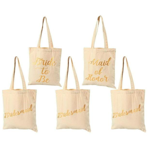 Bride Tote Bridal Party Tote Bachelorette Tote Bag Friends Bachelorette Bags Bridesmaid Name Tote Bags Bachelorette Party Favors Bags