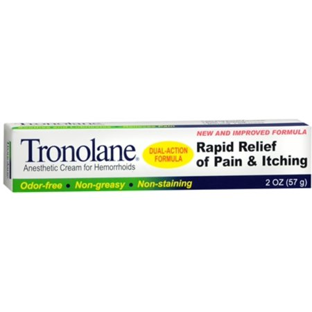 3 Pack - Tronolane Anesthetic Crème Hémorroïdes 2 oz