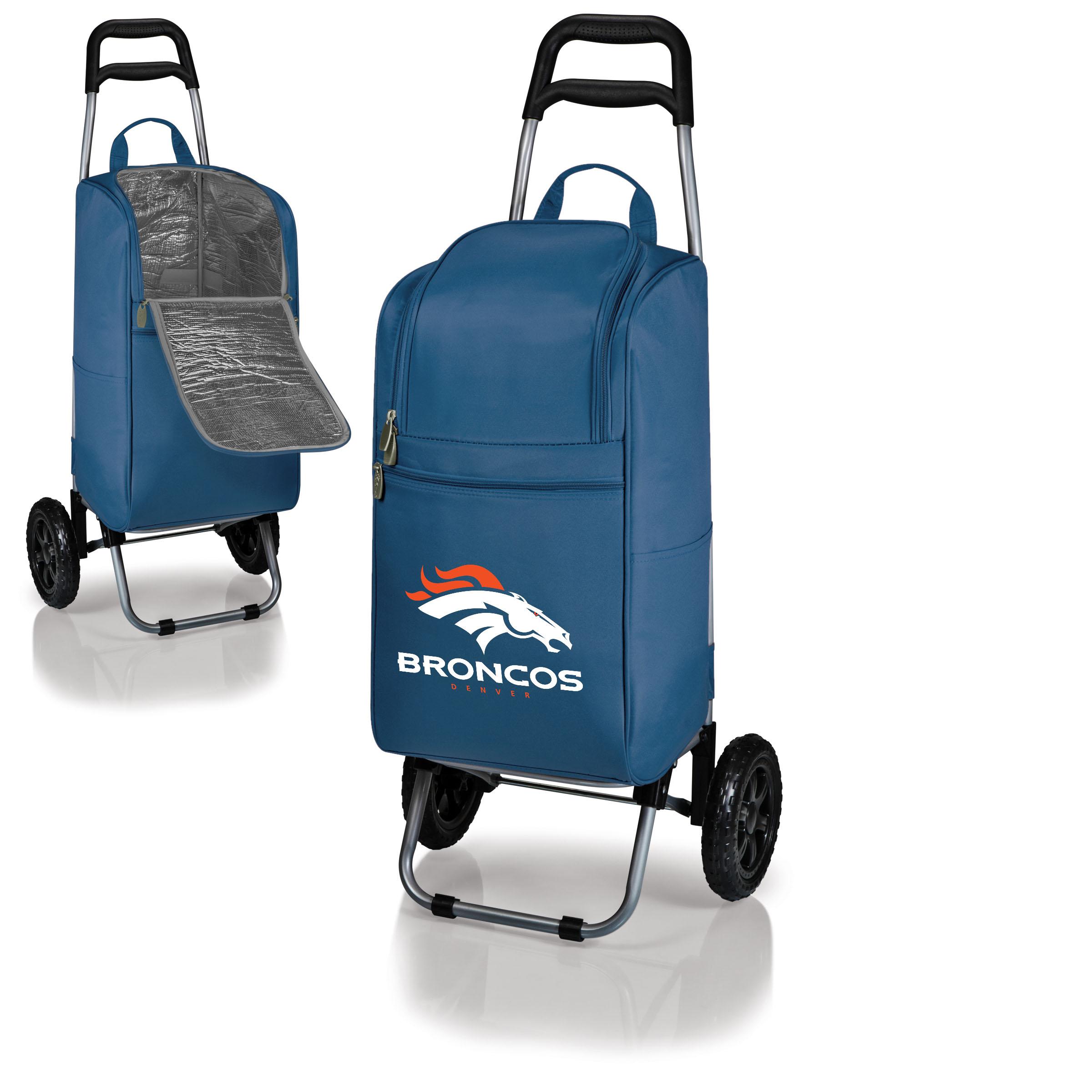 Denver Broncos Cart Cooler - Navy - No Size