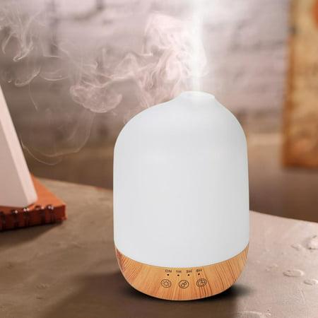 Light Diffuser - Yosoo 300ml Super Quite Aromatherapy Humidifier Oil Aroma Diffuser with Colorful Lights US Plug, Super Quite Aromatherapy, Oil Aroma Diffuser