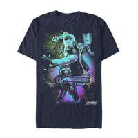 Marvel Men's Avengers: Infinity War Thor Lightning T-Shirt