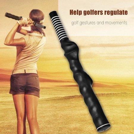 Herwey Golf Trainer Training Grip Aide à l'enseignement standard Assistante de pratique de la main droite noire, poignée de pratique de golf, poignée de golf noire - image 2 de 7