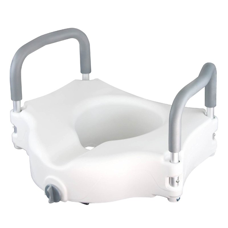Raised Toilet Seat - Best Portable Elevated Riser with Pa...