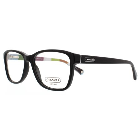 Coach Eyeglass Frames Hc6013 : COACH Eyeglasses HC 6013 5002 Black 54MM - Walmart.com