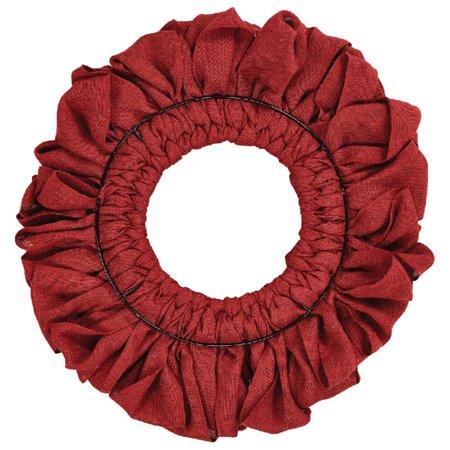 vhc christmas holiday decor burlap wreath walmartcom - How To Decorate A Burlap Wreath For Christmas