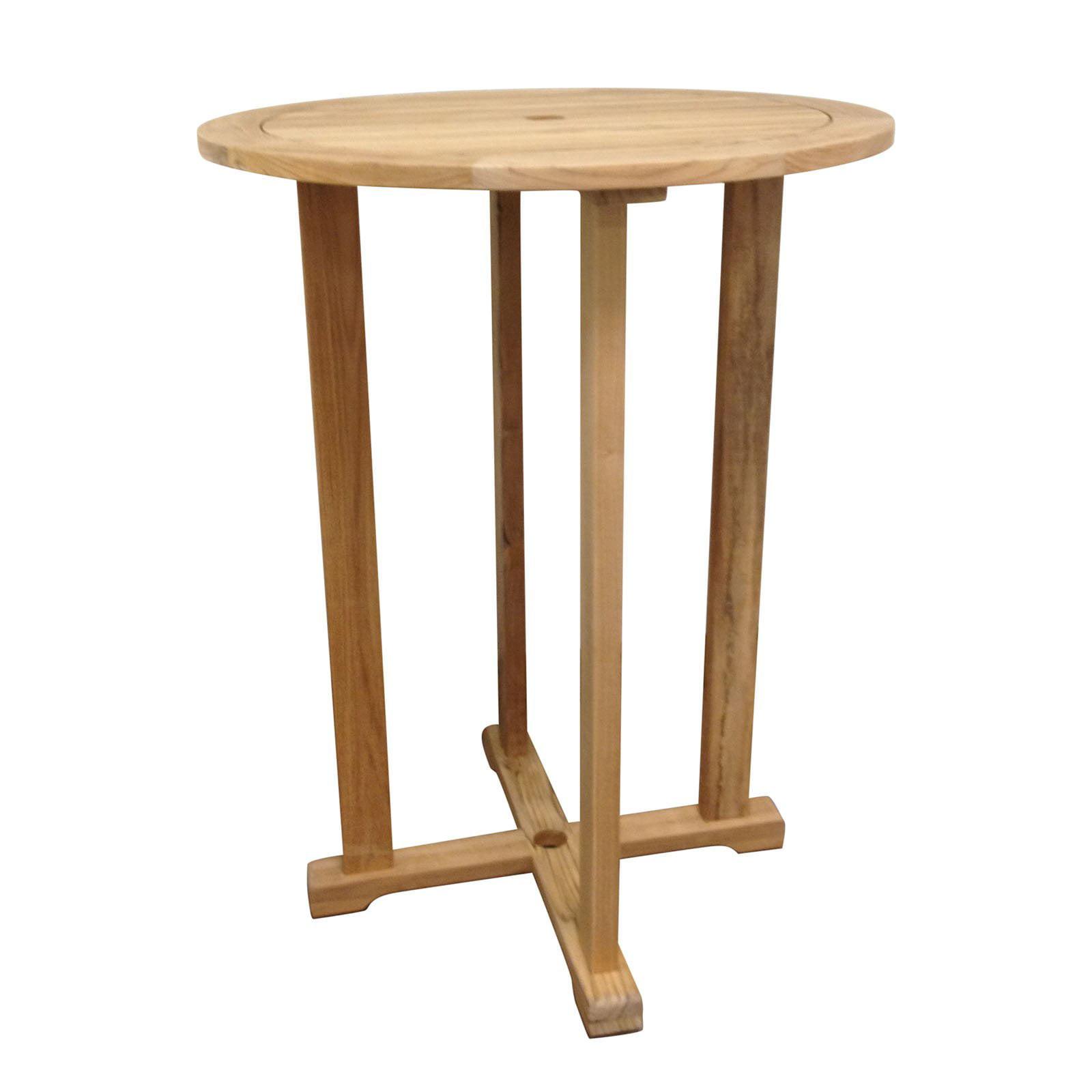 HiTeak Furniture R Bar Height Patio Dining Table