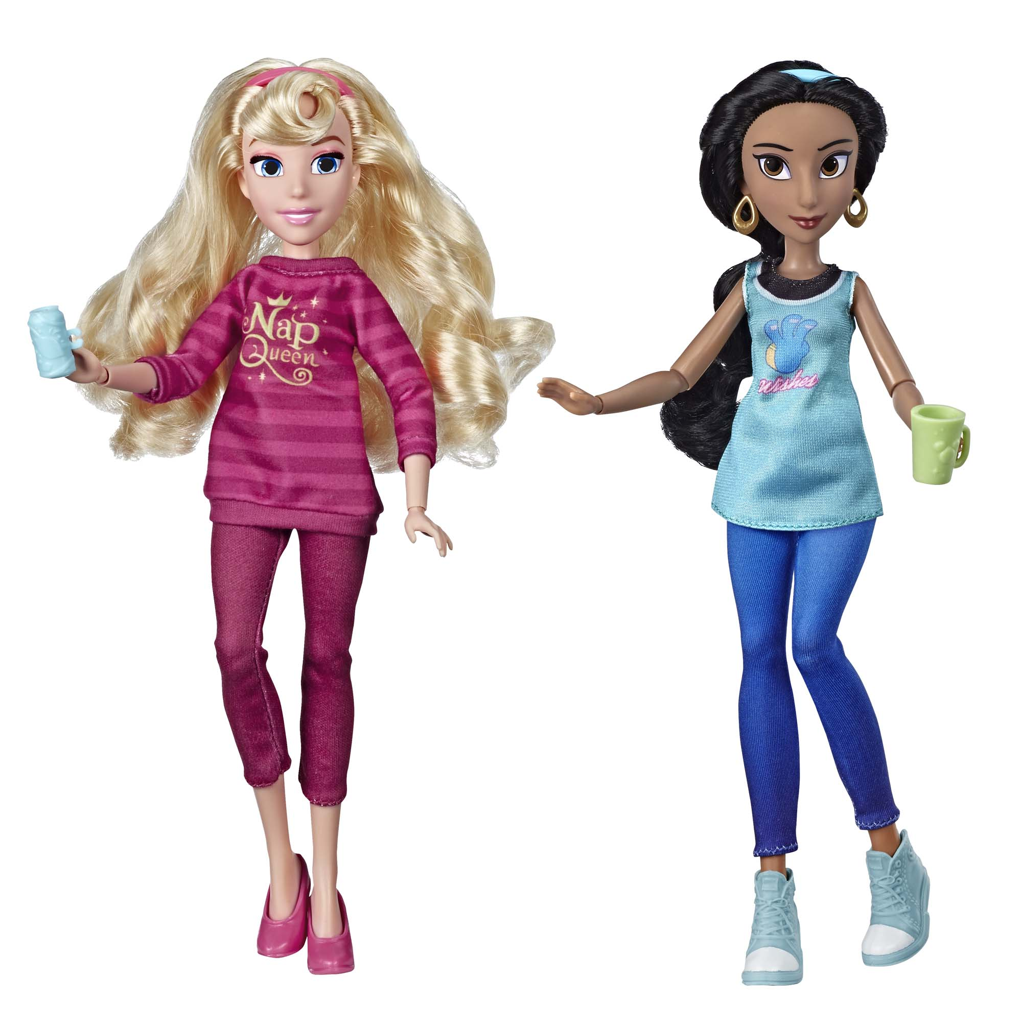 Disney Princess Ralph Breaks the Internet Movie: Jasmine and Aurora by Hasbro Inc.