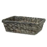 Medium Rectangular Sea Grass Bamboo Utility Basket 13in