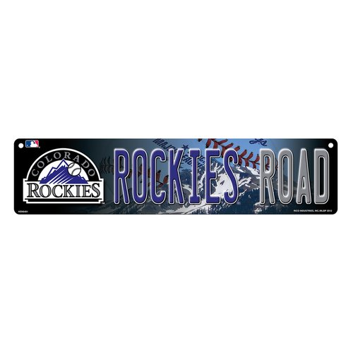 Rico Industries Rockies High-Res Street Sign