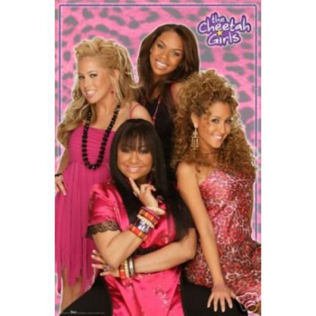 The Cheetah Girls Poster - Group Pose - New 24x36