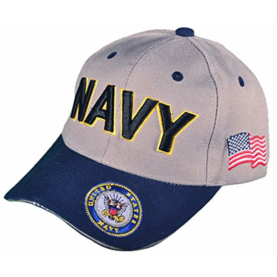 8d2b4b8222dc4 Buy Caps and Hats - Buy Caps and Hats Navy Veteran Baseball Cap Vet Military  Mens One Size (U.S. Navy with Flag Bill) - Walmart.com