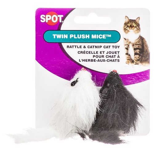 Spot Twin Plush Mice 2 Pack