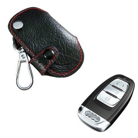 Xotic Tech Genuine Leather Key Folding Fob Key Holder Case Cover For Audi A4 A5 A6 A7 A8 etc