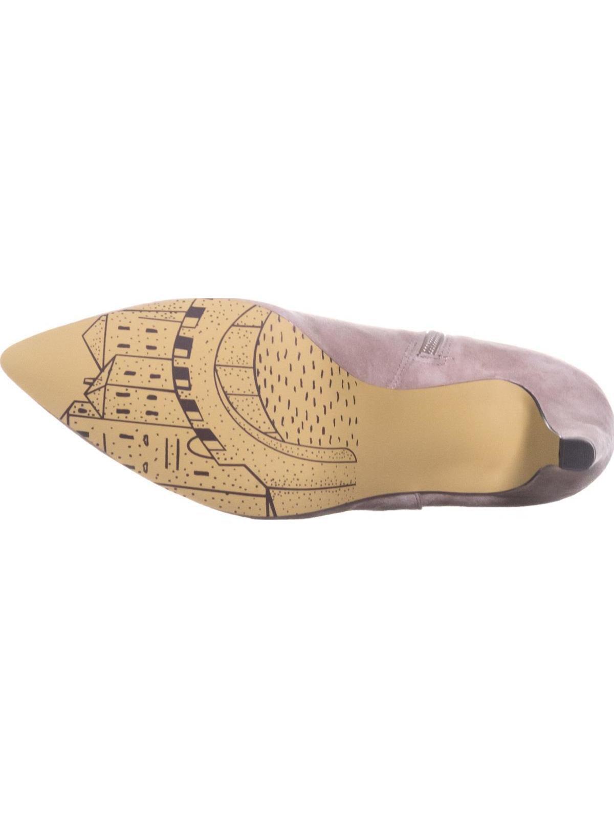 Womens Bella Vita 9.5 Delfina Ankle Booties, Almond Suede, 9.5 Vita W US 058287