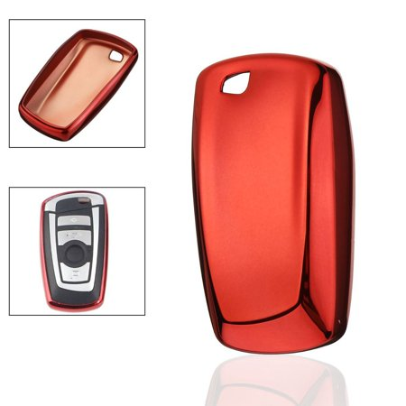 TPU Remote Smart Key Cover Fob Case Shell For BMW M5 M6 1 3 4 5 6 (Bmw 1 Series Remote Key Not Working)