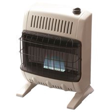 Heatstar Vent-Free Natural Gas Blue Flame Heater, Off-White, 15-3/4 In., 10,000 - Gas Table Heater