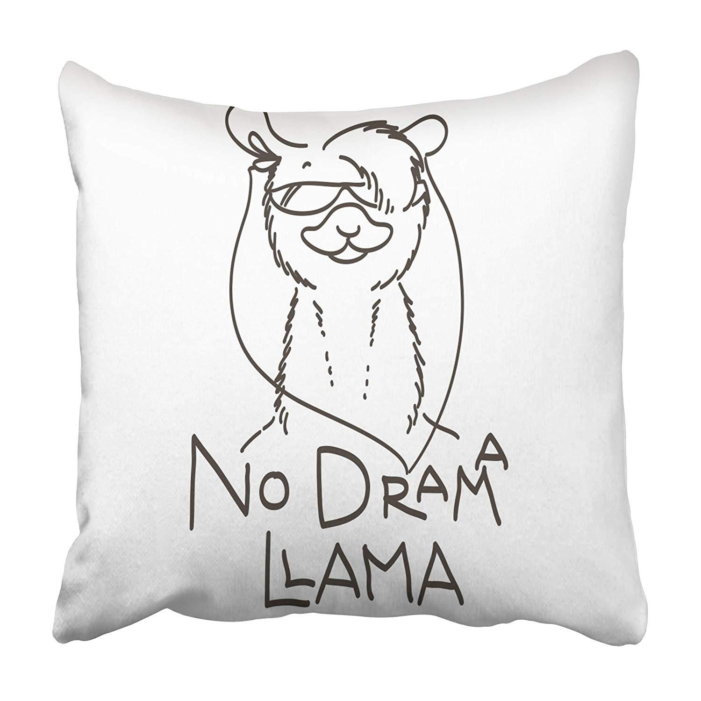 Llamas Quotes Inspirational: ARHOME Cute With Cartoon Llama Motivational And