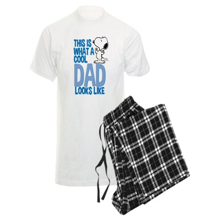 CafePress - Snoopy Cool Dad - Men's Light Pajamas](Cool Onesies For Adults Uk)