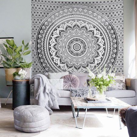 Tapestry Wall Hanging Wall Hanging Decor Tapestry Home Wall Decoration for Living Room Bedroom (Colorful,78