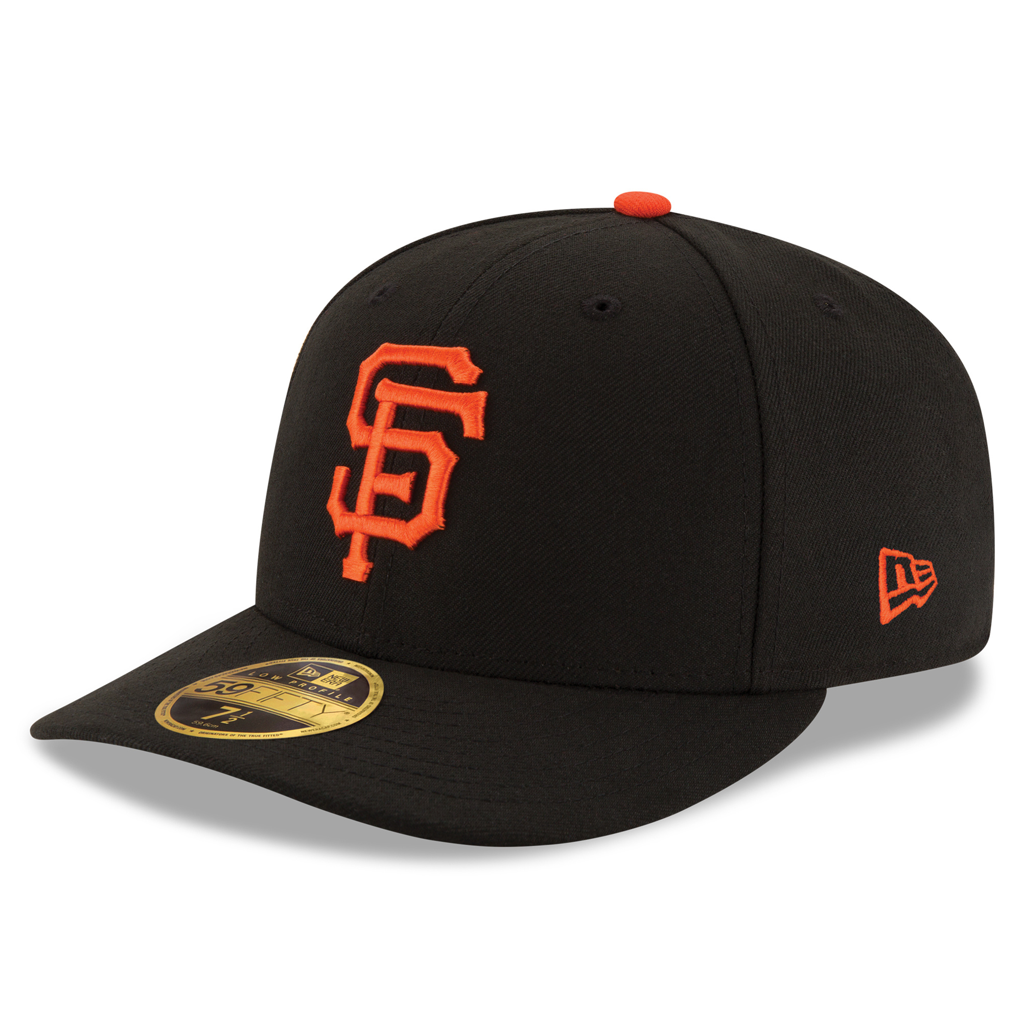 San Francisco Giants New Era Authentic Collection On Field Low Profile Game 59FIFTY Fitted Hat - Black