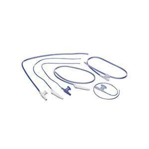 Pediatric Graduated Suction Catheter Kit with Safe-T-Vac Valve ''8 Fr, Purple, 1 Count''