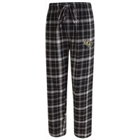 UCF Knights Concepts Sport Ultimate Flannel Pajama Pants - Black