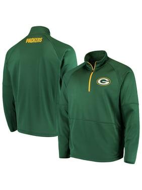 b5385b478 Product Image Green Bay Packers G-III Sports by Carl Banks Challenge  Microfleece Quarter-Zip Jacket