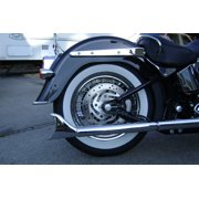 "Samson Longtail True Dual Exhaust 23.5"" Fits 07-11 Harley-Davidson FLSTN Softail Deluxe"