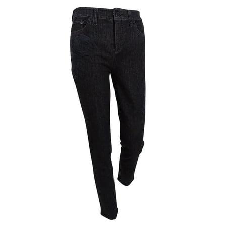 Ralph Lauren Women's Premier Skinny Crop Jeans (8, Asphalt)