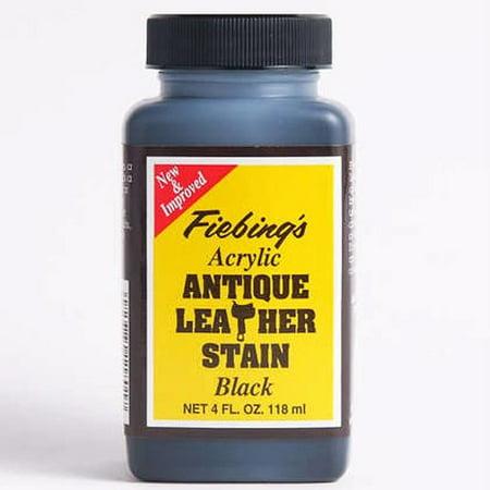 Fiebing's Acrylic Antique Leather Stain Finish, 4 oz](Suede Dye Walmart)