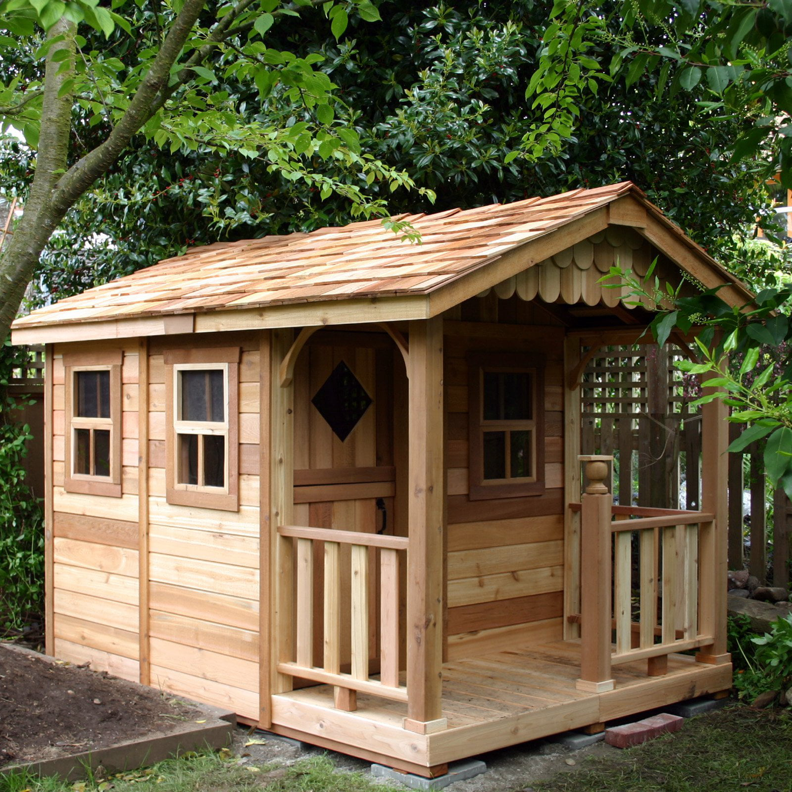6 x 9 Sunflower Playhouse by Outdoor Living Today