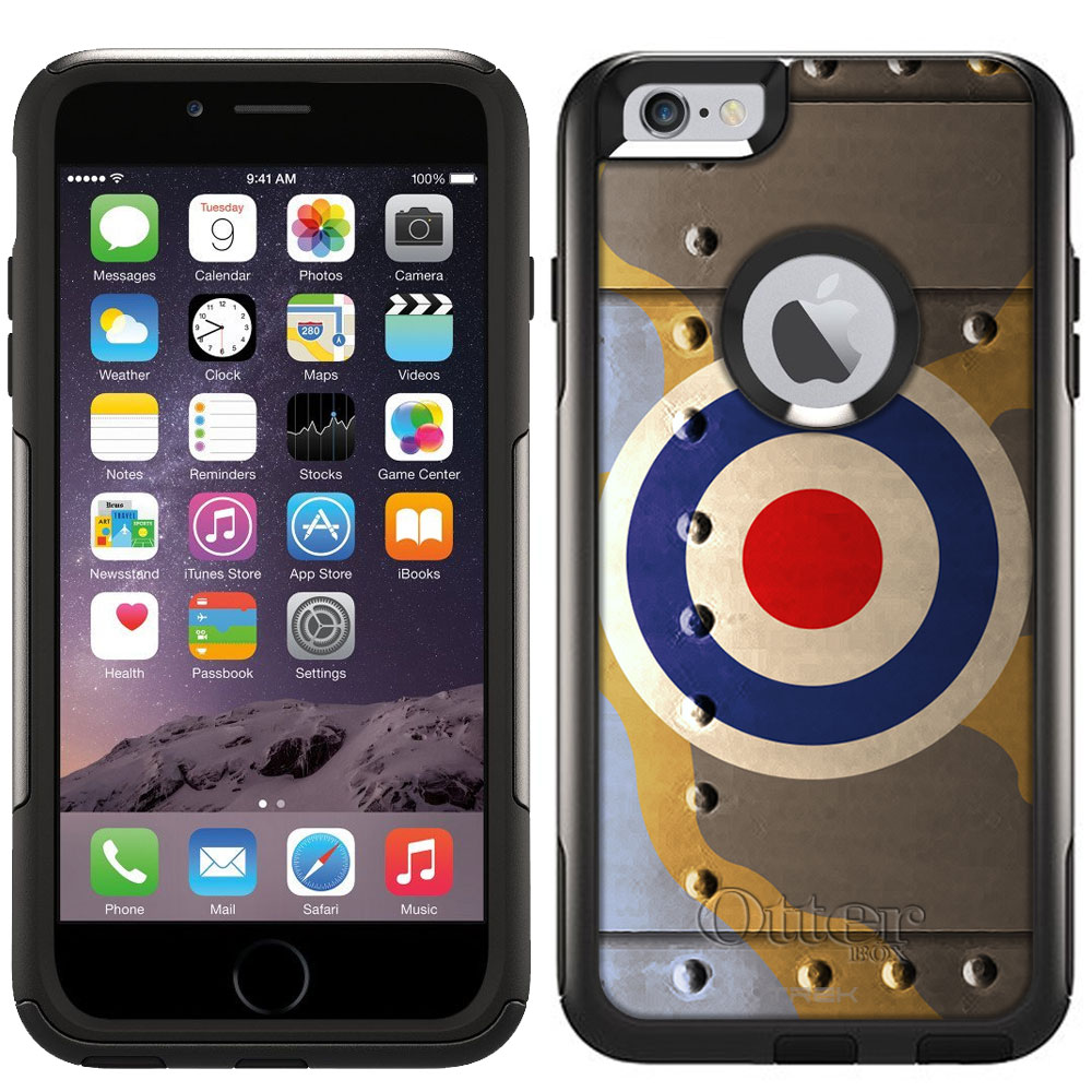 Otterbox Commuter Case for Apple iPhone 6 Plus Royal Air Force War Plane Fuselage by Trek Media Group