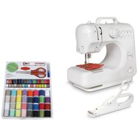 Michley Desktop Sewing Machine & Accessories 3-Piece Value Bundle