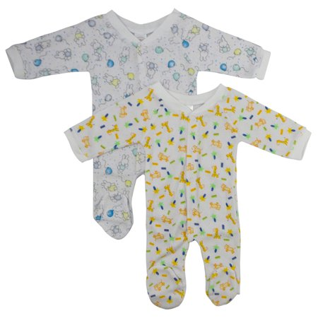 One Pack Terry Sleep & Play (Pack of 2)
