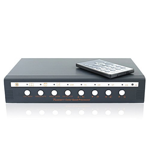 Toughsty™ 8Ch Color Non-Realtime Video Quad Processor CCT...