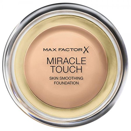 - Max Factor Miracle Touch Liquid Illusion Foundation, No.60 Sand