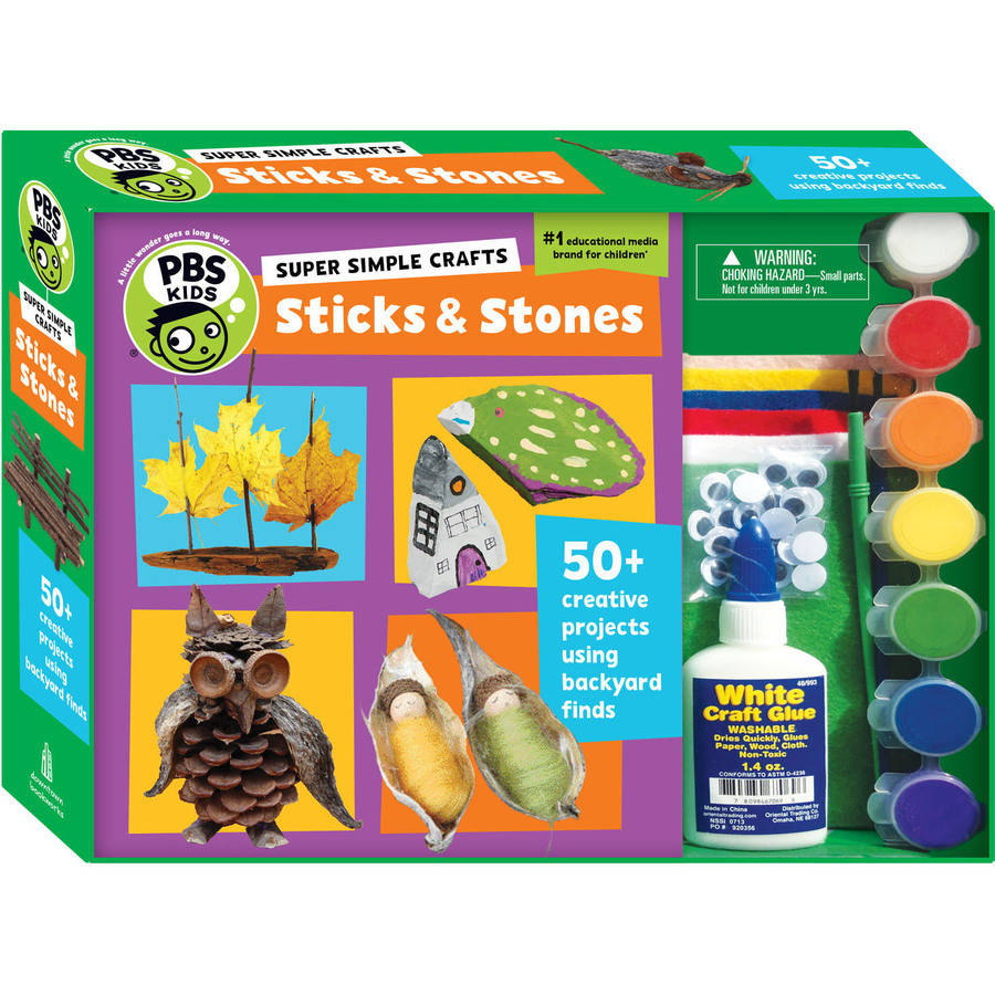 Super Simple Crafts: Sticks and Stones (Book #1 of PBS Kids) By Editors of PBS KIDS
