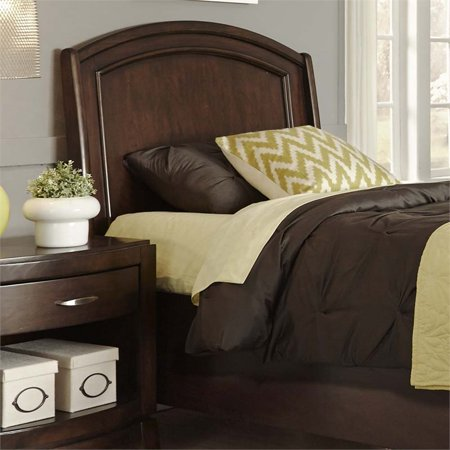Liberty Furniture Avalon Full Platform Panel Headboard in Dark Truffle