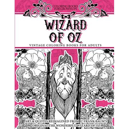 Coloring Books for Grownups Wizard of Oz