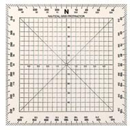 Weems & Plath Marine Navigation Square Protractor (5-Inch) - Weems Protractor