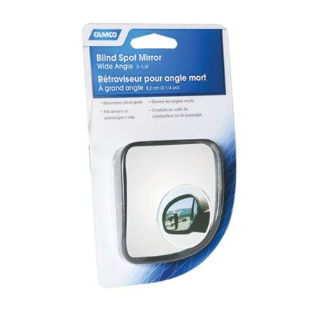 Eaz Lift 25623 Blind Spot Mirror  Sold Individually; 3-1/4 Inch x 3-1/4 Inch Convex; Wide Angle; Without Turn Signal Indicator - image 2 de 2