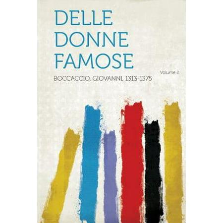 Delle Donne Famose Volume 2