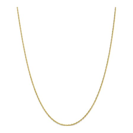 10k 1.3mm or jaune cha?ne corde lourd-b?b? - image 5 de 5