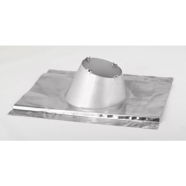 "6"" Secure Temp Roof Flashing, 1/12-7/12 Pitch Malleable For Metal/contoured Roofs, Aluminum"