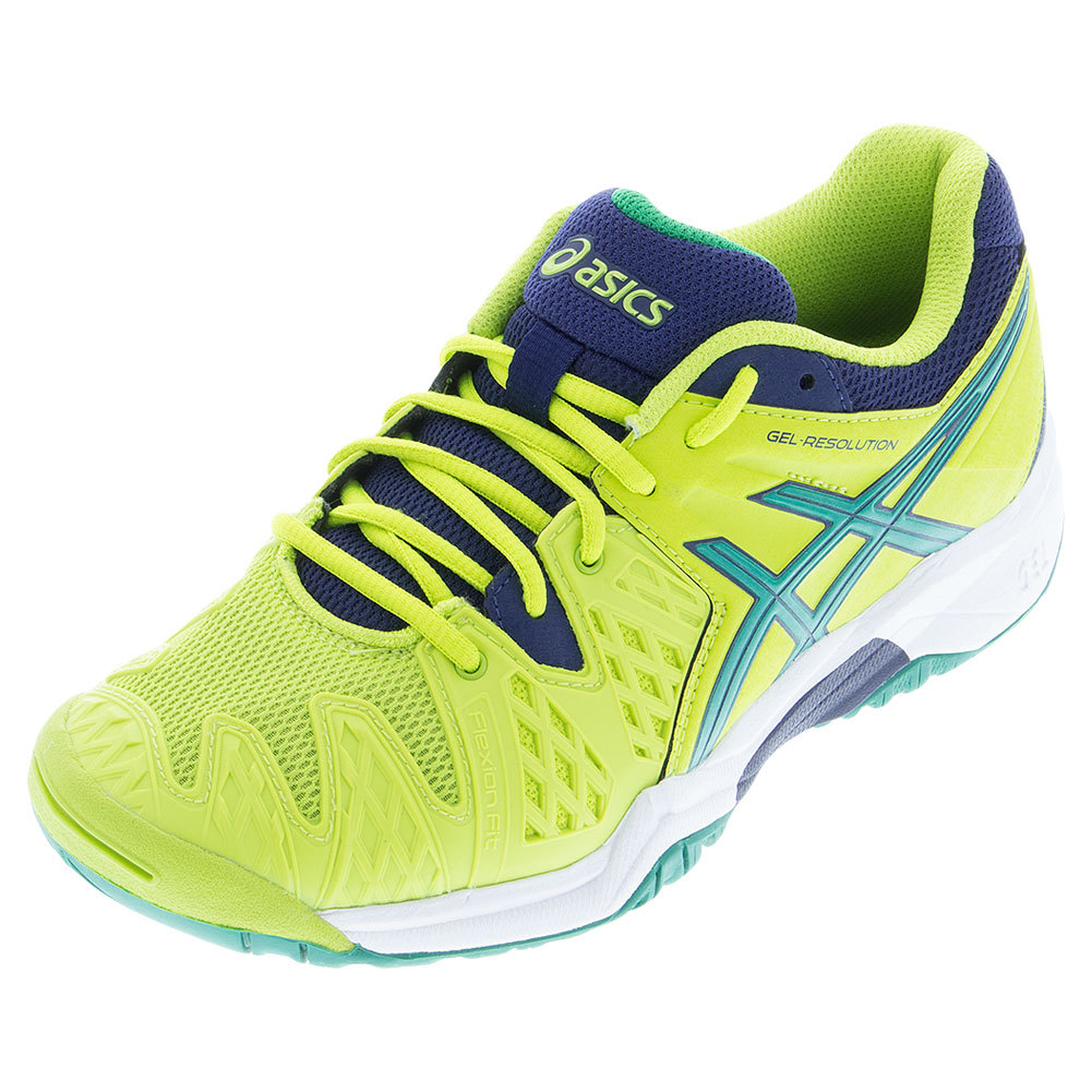 asics gel resolution junior