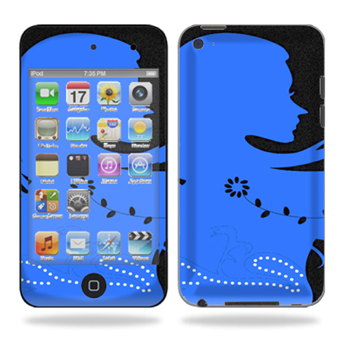 Skin Decal Wrap for iPod Touch 4G 4th Generation Funky Chic