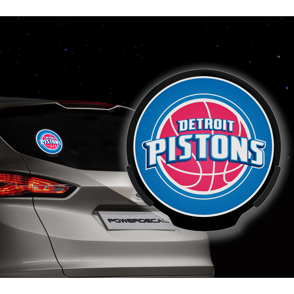 Detroit Pistons NBA Power Decal