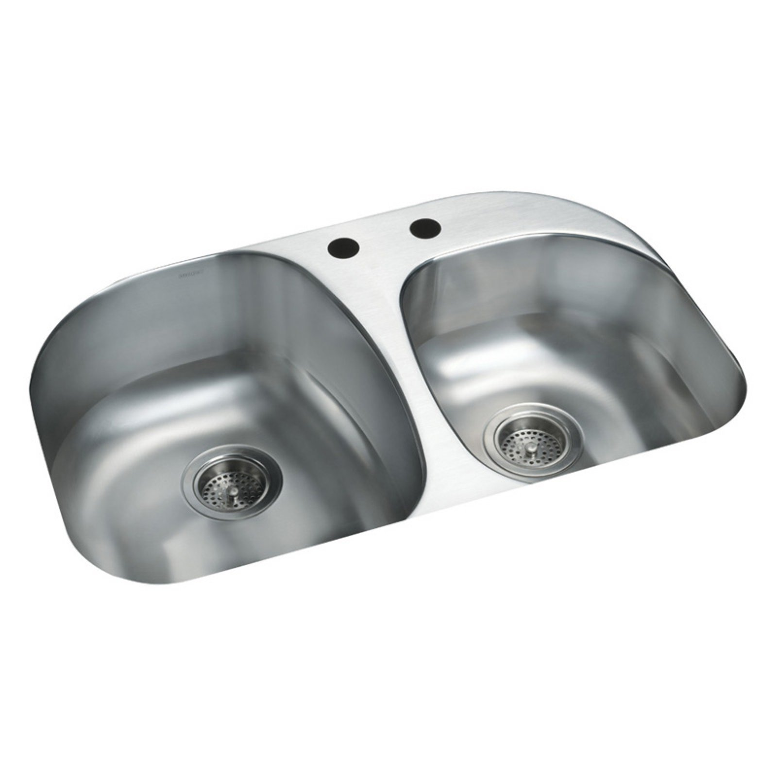 Sterling by Kohler Cin.® 11723-2 Double Basin Undermount Kitchen Sink